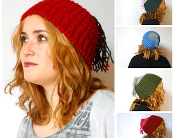 chunky knit beanie, waterproof wool knit hat, hipster beanie, knitted beanie hat by cosediisa  Inspirational womens