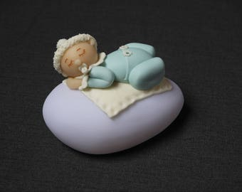 Night light colorful baby cold porcelain