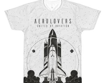 Space Shuttle White T-Shirt