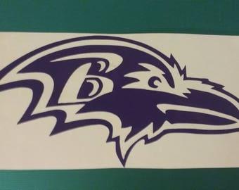 Baltimore Raven decal