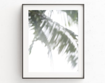 Palm Leaf Print, Tropical Wall Print, Palm Leaves Print, Tropical Modern Wall Print, Palm Wall Print, Modern Photography Print, Wall Decor