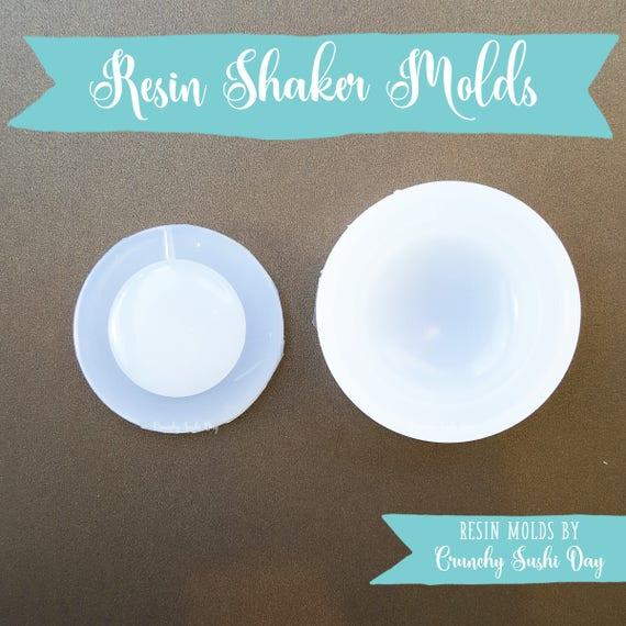Puffy Circle Resin Mold, Resin Shaker Mold, Silicone Mold, Epoxy, Shaker Mold, Charm Mold, Kawaii, Resin Mold, Hollow Mold, UV Resin Mold