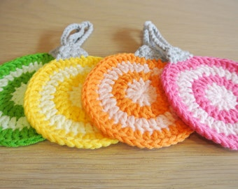 Crochet Coasters - Handmade Ornament Coaster Crochet - Coaster Crochet - Christmas Ornament Coaster
