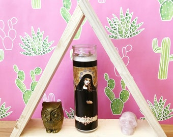 Saint Stevie Nicks // Sister of the Moon Prayer Candle