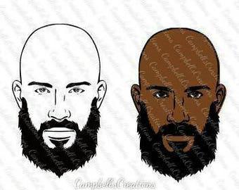 Bald Man Beard