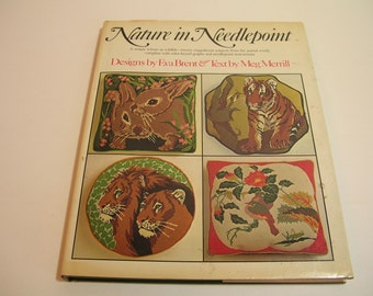 Nature In Needlepoint Vintage Book