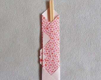 Wands range 1 bamboo chopsticks with origami
