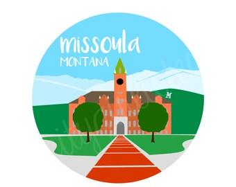 Missoula City Tote