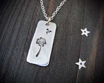 a simple wish ... sterling silver pendant