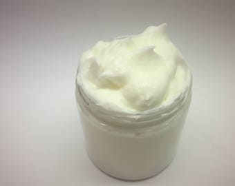Cucumber Melon Type Whipped Body Butter, Goat Milk, Shea and Cocoa Butter With Vitamin C, Handmade
