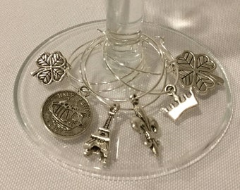Wine Charms - European Vacation
