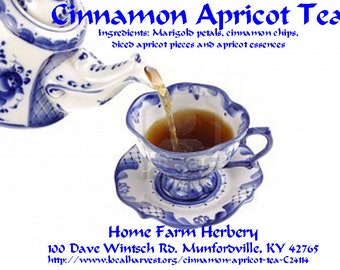 Cinnamon Apricot tea a spectacular blend with free shipping order now