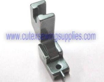 Industrial Sewing Invisible / Concealed Zipper Foot - Narrow Type With GUIDE