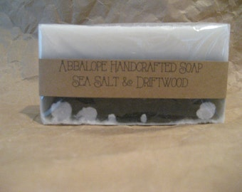 Sea Salt & Driftwood Soap Bar