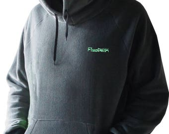 Big Hoodie personalized fleece made in France