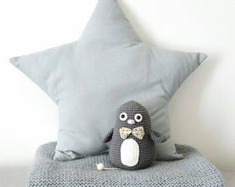 Tutorial crochet musical Penguin