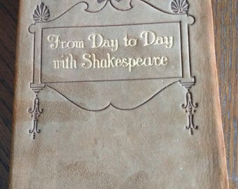 Start every Day with Shakespeare. - Very Collectable!!!