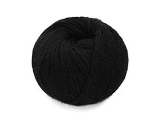 Indiecita 100% Baby Alpaca Yarn -DK- Black