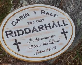 Hardwood Anniversary Faith Keepsake Religious Wedding Gift