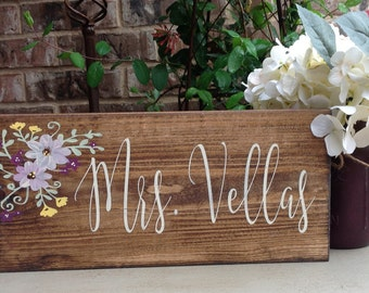 Teacher Gift, Teacher Name Sign, Teacher Appreciation Gift, Class Room Sign, Personalized Teacher Sign, Wood Sign Saying