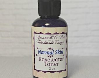 Amaranth & Rue Rosewater Toner for Normal Skin