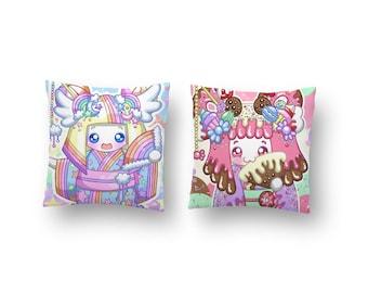 Kokeshi Dolls Pillows
