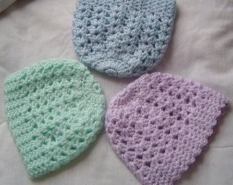 0007 Baby Boy Pattern,BabyGirl Pattern,Unisex Baby Pattern,Baby Hat,Crochet Beanie,Infant Hat,Preemie Beanie by CarussDesignZ