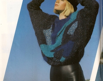 Anny Blatt number 80 Special Mohair knit magazine
