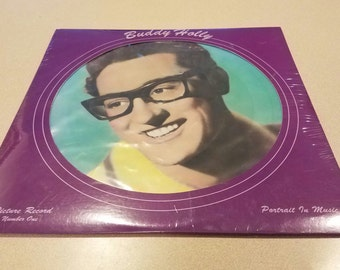 Vintage Buddy Holly Record