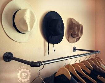 Industrial Clothing Rack, Clothing Rack, Garment Rack, Store Rack, Industrial Rack, Storage Rack, pipe clothing rack, pipe rack