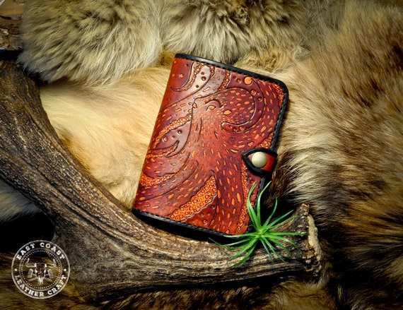 Fieldnotes Passport Leather Travel Wallet Cover - Octopus