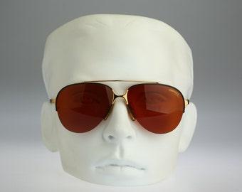 Carrera 5470, Vintage aviator sunglasses, 80s mens & women rare and unique / NOS