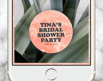 Snapchat Geofilter Bridal Shower, Bride Tribe Geofilter, Snapchat filter 18th Birthday, Snapchat filter 21st Birthday, 30th Birthday Filter