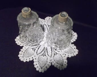 Set/2 Home Interior Clear Votive Cups