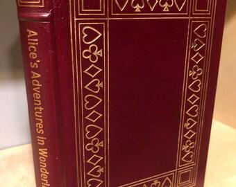 Easton Press Alice's Adventures in Wonderland by Lewis Carroll 100 Greatest