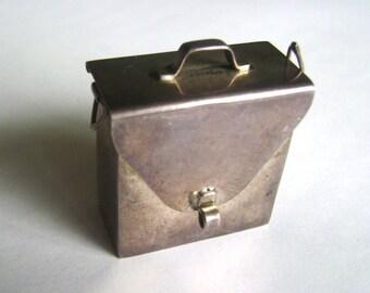 vintage sterling purse/satchel pendant