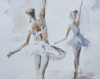 Ballerina VII GICLEE PRINT on fine art paper