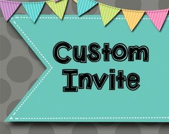 001 DIY - Custom Invite