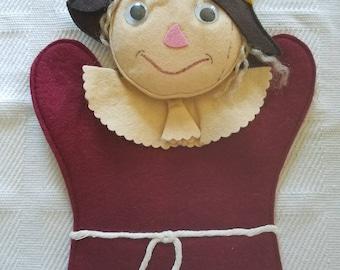 Scarecrow handpuppet