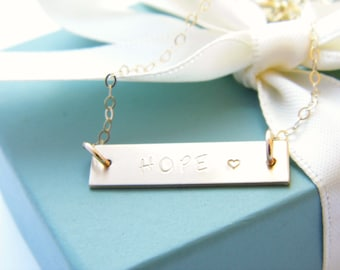 Personalized Name Necklace - Personalized Nameplate - Custom Name Necklace - Name Plate Necklace - Gold Name Plate - Personalized Jewelry -
