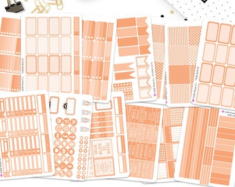 HORIZONTAL May Monthly Kit Life Planner Stickers. Perfect for the Erin Condren Life Planner! H-MAY18