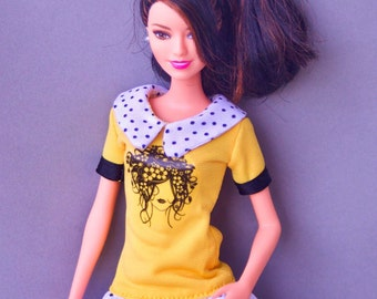 Barbie clothes - Barbie dress - doll's Barbie doll clothes 12'' 12 inches action figure Collectible doll Fashion Royalty clothes