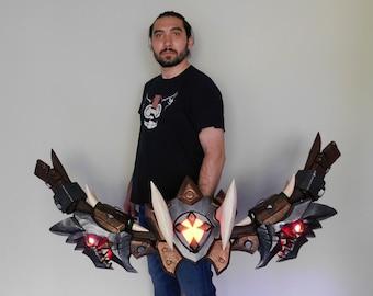 Dagryn's Discarded Longbow World of Warcraft cosplay prop