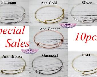 Expandable Bangle Bracelet - Adjustable Bracelet Expandable Bangle Bracelet Charm Bracelet - Kids Wire Bangles - Wire Bangles