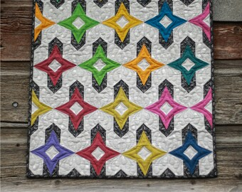 Fierce Kismet Mini Quilt Pattern