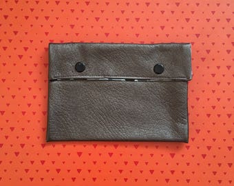 Clutch faux leatherette - small size