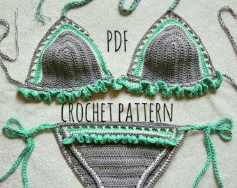 The Flutter Bikini Set Crochet Pattern