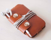 IPhone 8 case,IPhone 7 sleeve,iPhone 6 case,IPhone 5 case,IPhone 8 Plus case,iPhone 7 Plus case,iPhone 6 Plus case - Brown leather sleeve
