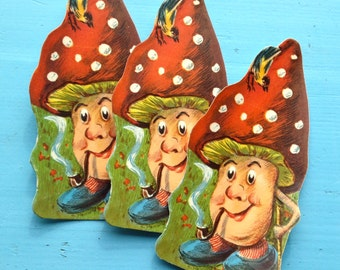 Gingerbread picture fly agaric