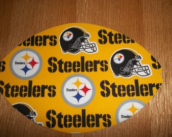 Mouse Pad Pittsburgh Steelers Gift Desk Accessory MousePads Office Decor Handmade Football Rectangle Shape Computer MousePad Fathers Day